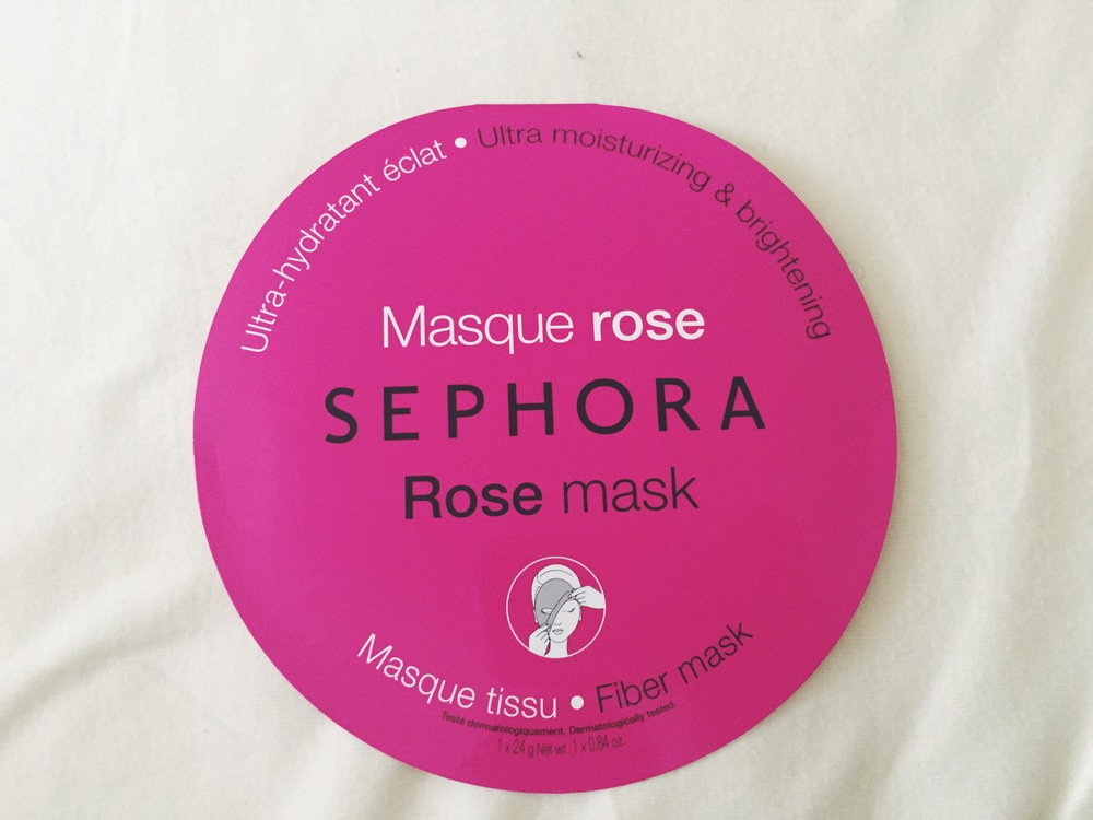 Ultra Moisturizing & Brightening Rose Mask, $6.00, Sephora