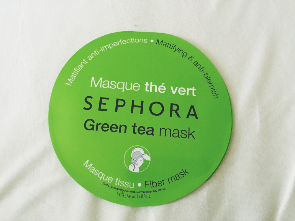Mattifying & Anti-Blemish Green Tea Mask, $6.00, Sphora