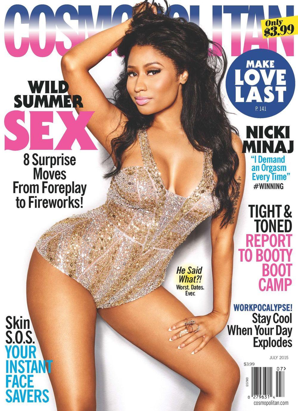 Nicki Minaj Cosmo July 2015