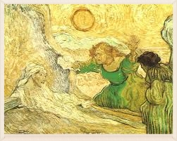 The Raising of Lazarus by van Gough