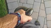 Me holding a 36 pound kettlebell