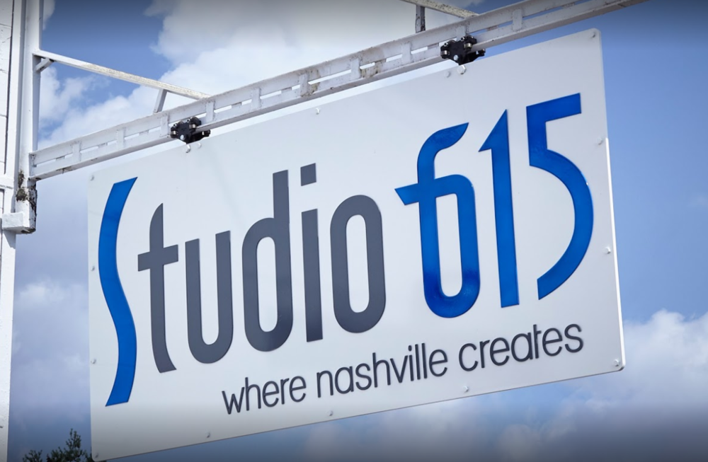 Studio 615 Sign