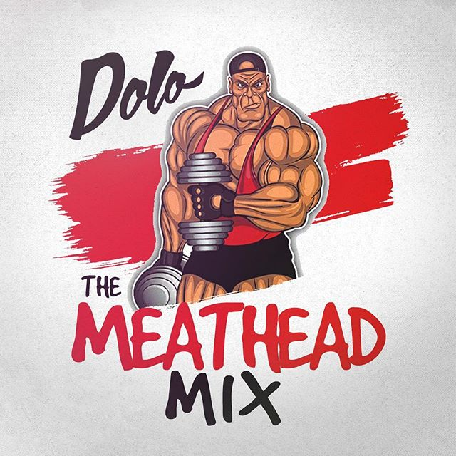 "Just uploaded ""The Meathead Mix"", a mix I recorded filled with my favorite songs to workout to 💪🏽🦍 Link in bio! #gymmotivation #gymmusic #chickswholift"
