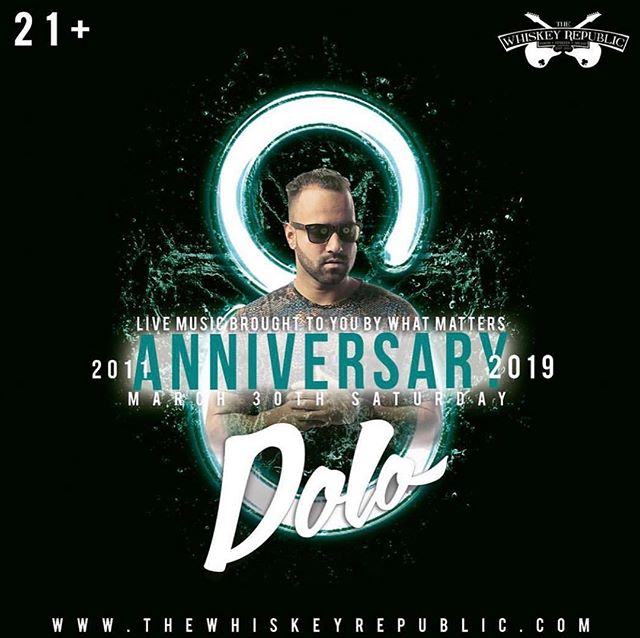 I played the grand opening and 8 years later I'm still here dog...@thewhiskeyrepublic tonight!