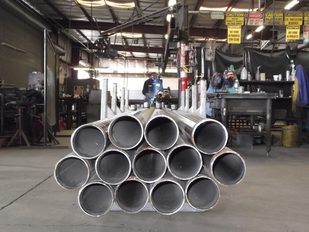 We cut groove: carbon steel/CPVC   Sch 80/ductile iron pipe. We can thread or groove large quantities of pipe with our automatic threading equipment.