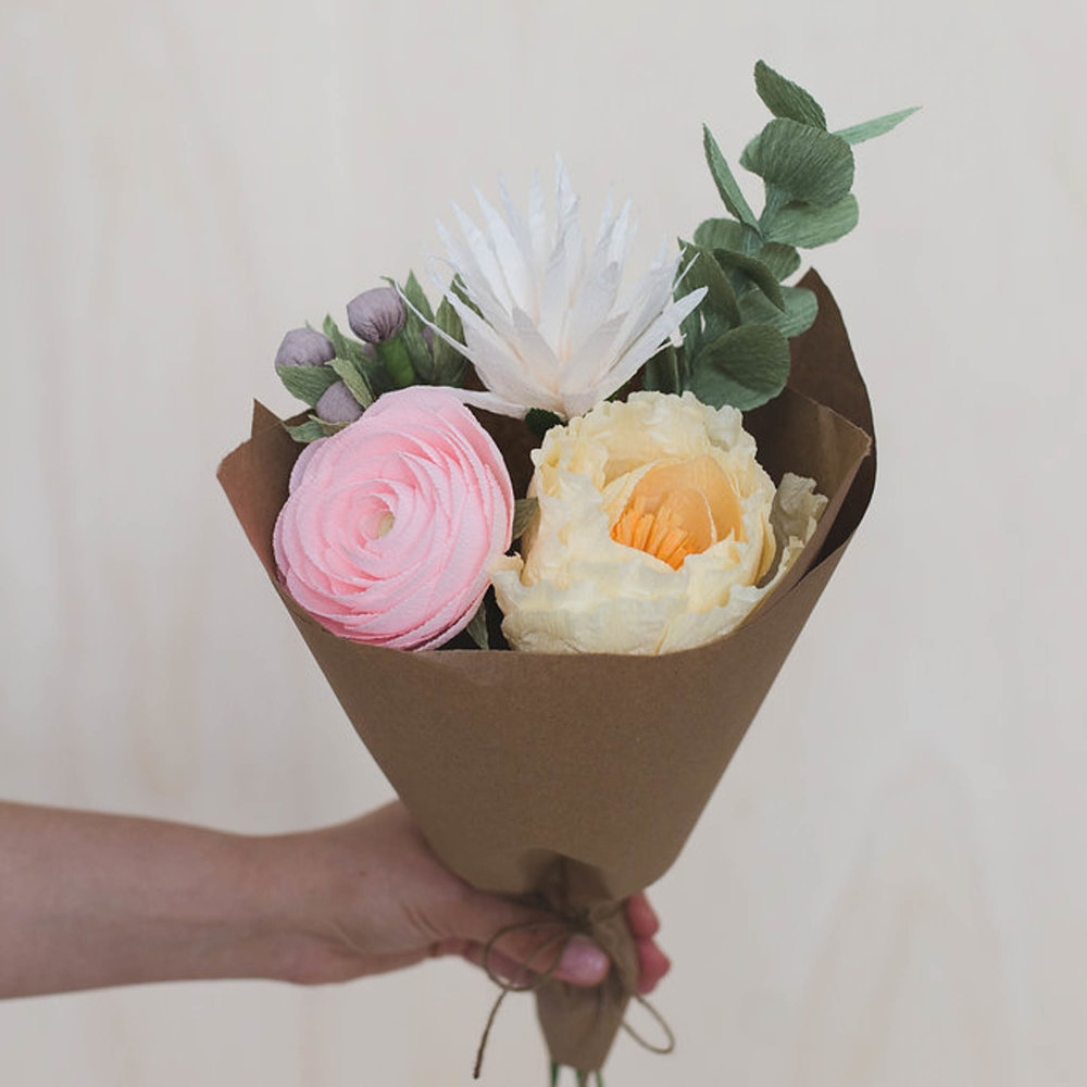 Elegant Paper Flower Bouquet Katie 1