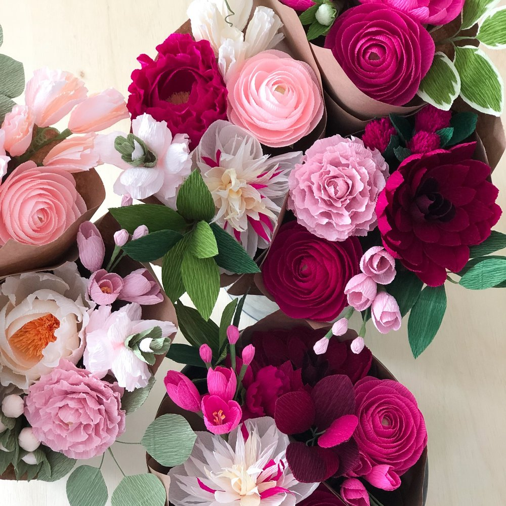 Valentine Bouquets - Love blooms here.