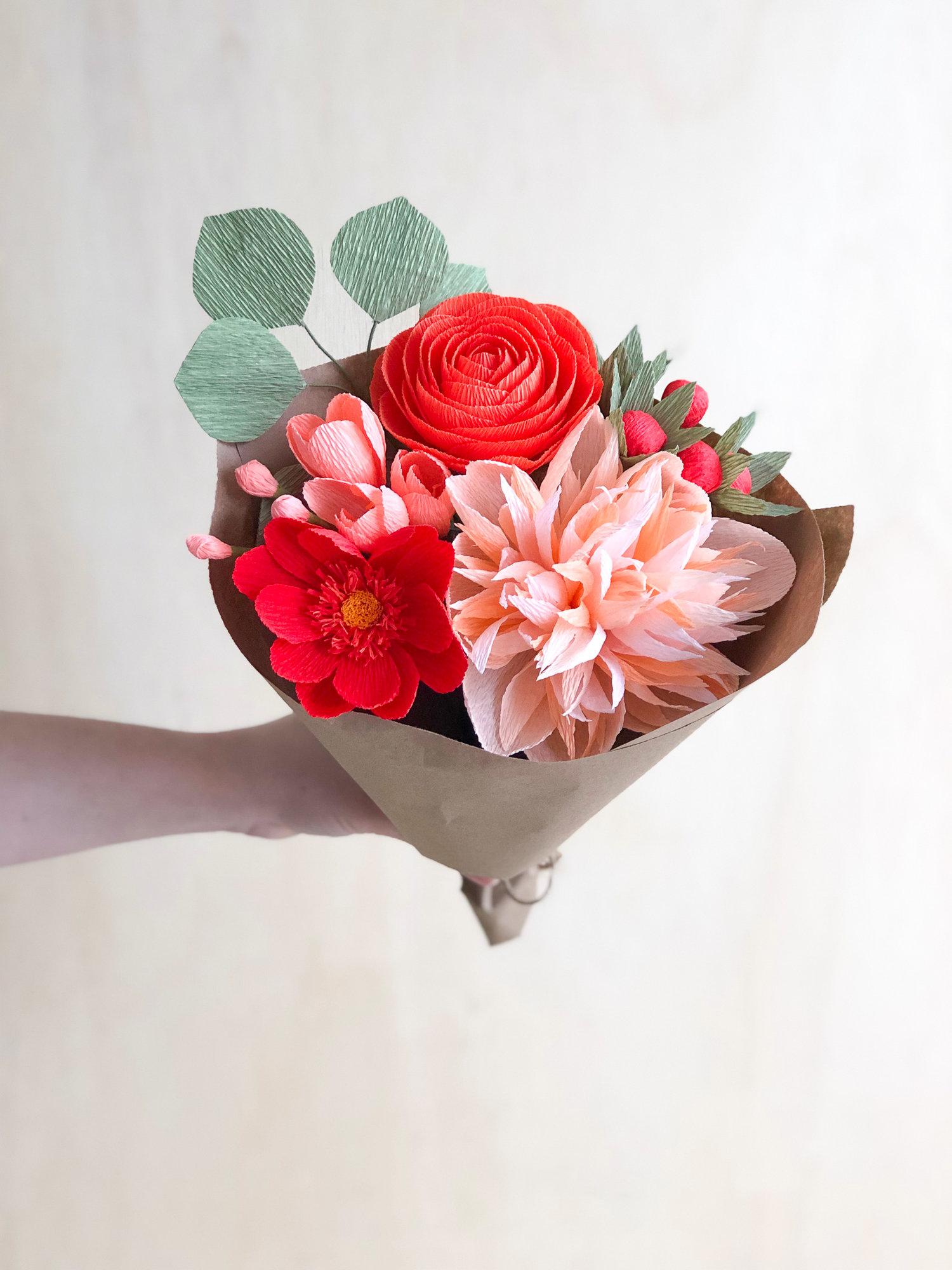 Vera Bouquet Amaranthus Paper Flora