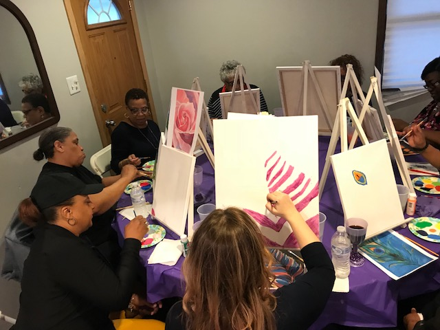 Paint & Empowerment - $60 Limited Time Only ($120)Have Fun Discovering Your Hidden Talent While You Rediscover Your Forgotten Dreams…