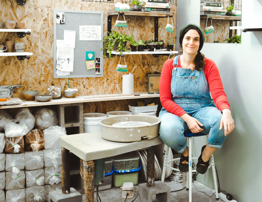 Courtney Puig, ceramicist  - From North Shore of Kaua'I, HI