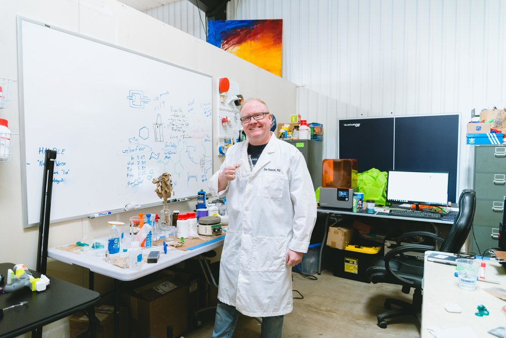 Dan Rudnicki, scientist working in S.T.E.A.M. toys  - From Boulder, CO