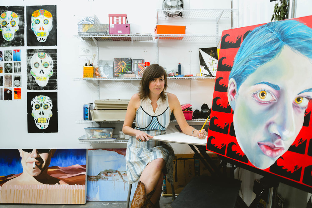 Ella Levy, painter, photographer, multi-media artist   - Dallas, TX