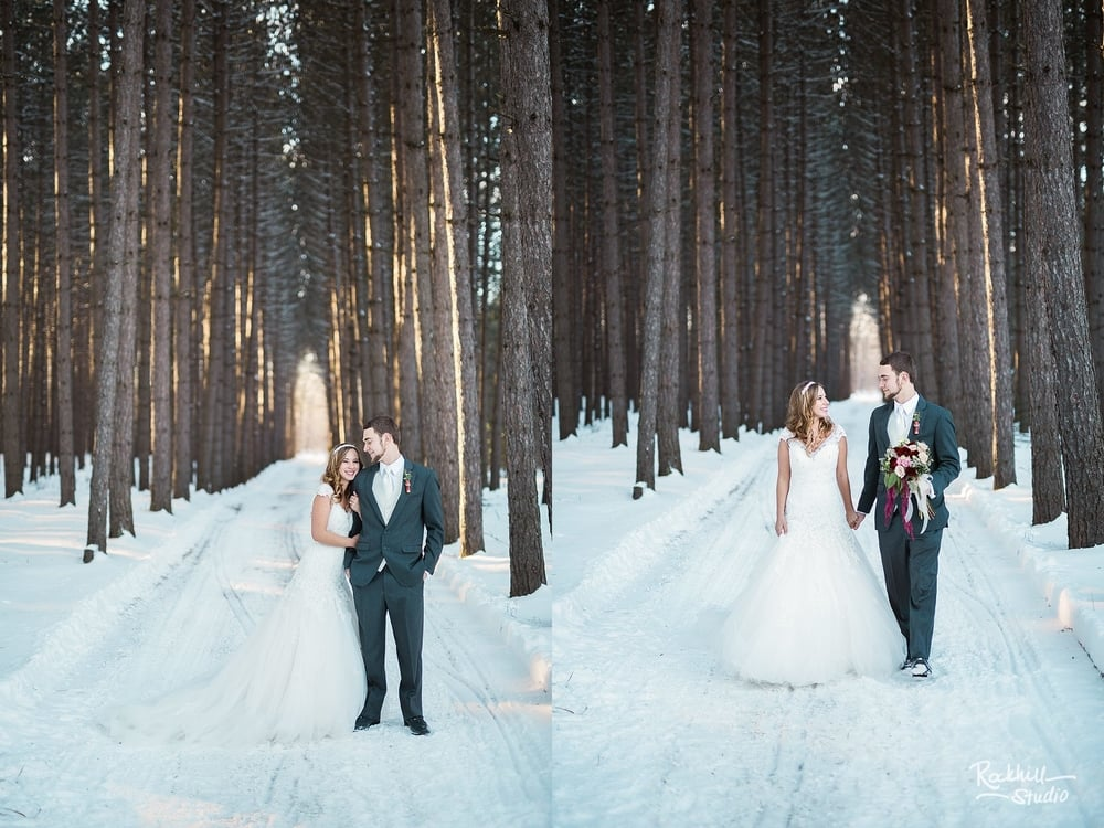 marquette-wedding-photographer-winter-bride-groom-portrits-woods-pine-trees.jpg