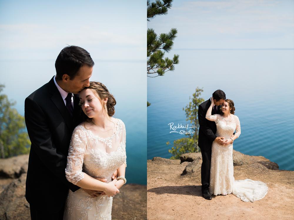 Marquette Wedding Photography Rockhill Studio Michigan Upper Peninsula Presque Isle Matthew Dawn 2