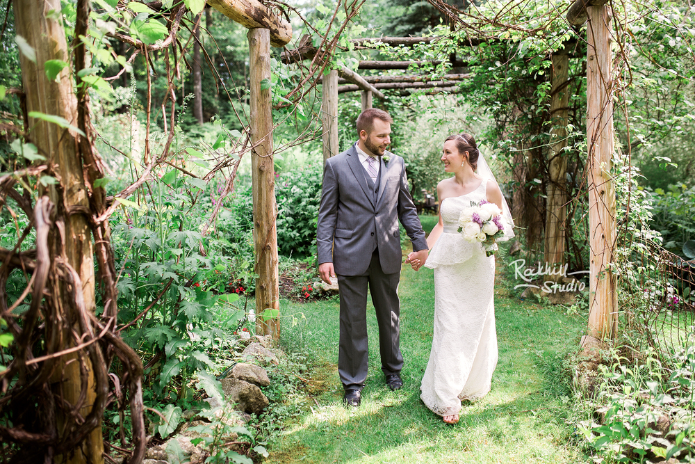 traverse city wedding photographer rockhill studio summer garden wedding