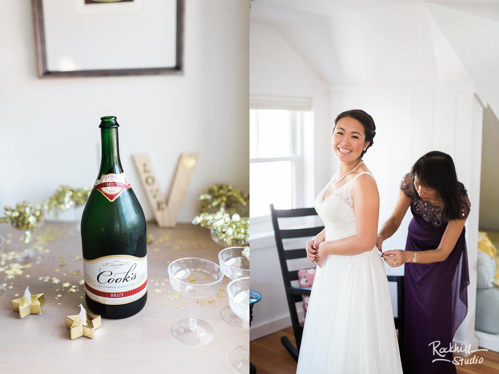 Traverse city wedding photographer northport bride