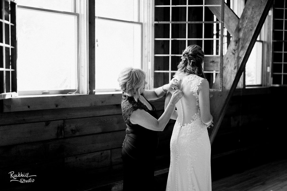 Traverse City wedding photographer Rockhill Studio, Glen Arbor Wedding