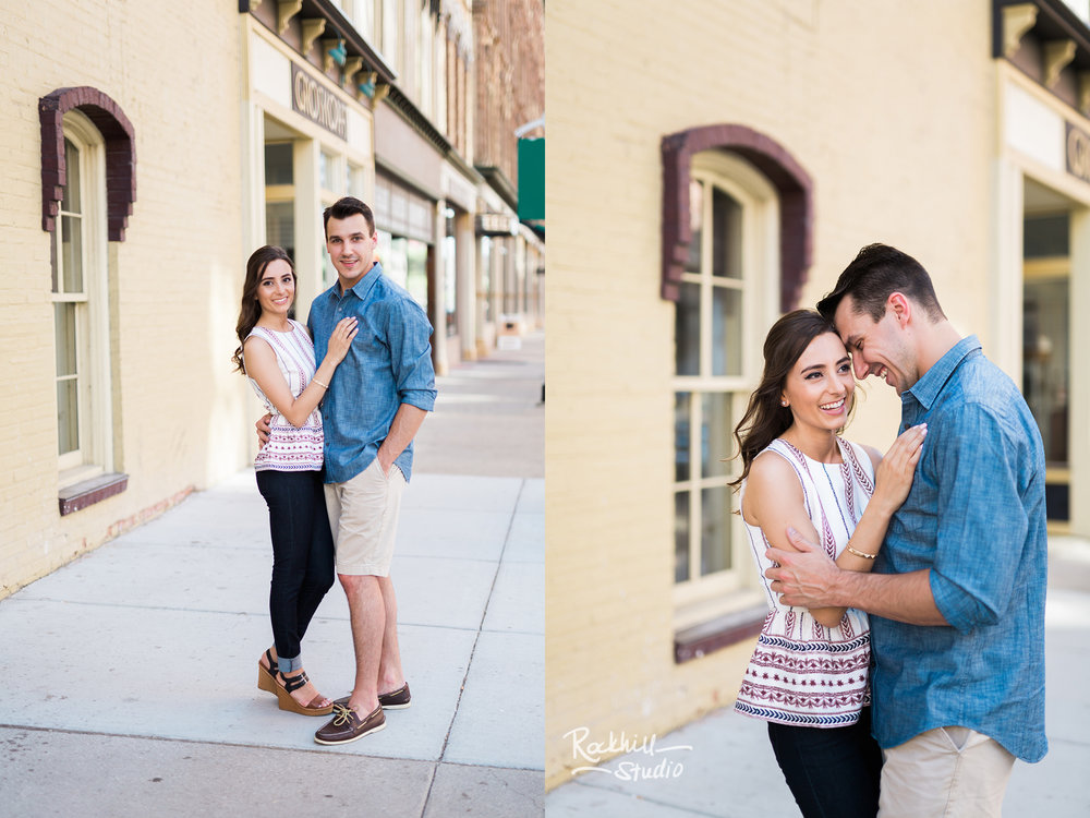 Traverse City Wedding Photographer Coffee Shop Engagement Grand Rapids