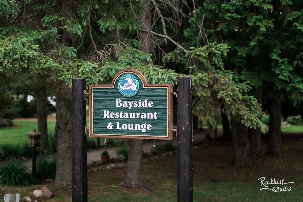 Drummond Island Wedding, Bayside Restaurant, Traverse City Wedding Photographer Rockhill Studio