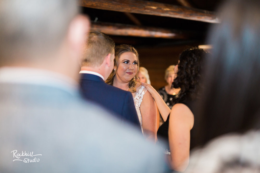 Drummond Island Wedding, ketubah ceremony, Traverse City Wedding Photographer Rockhill Studio