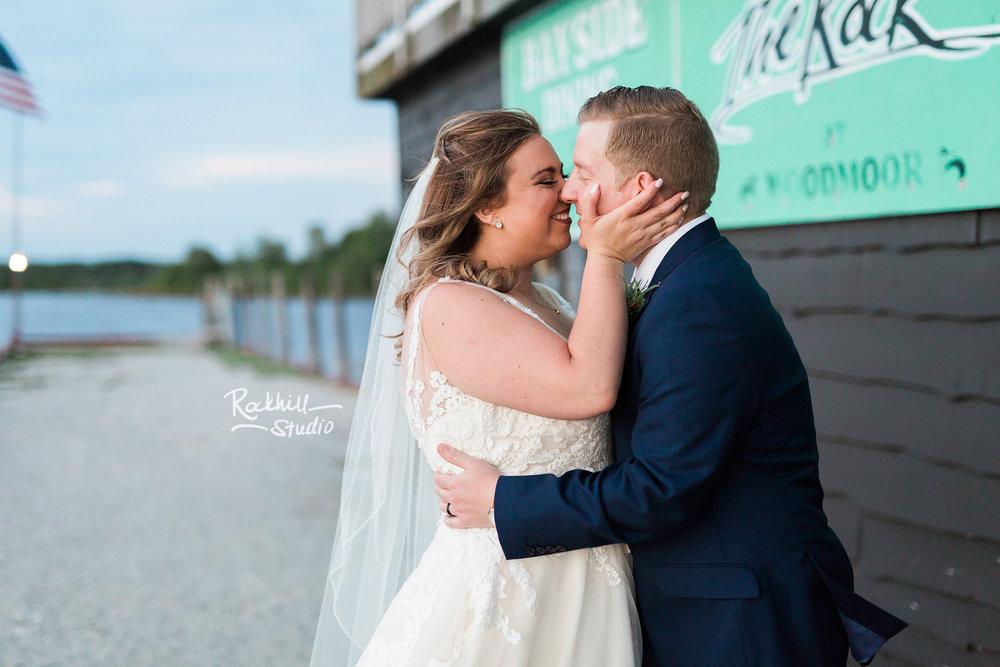 Drummond Island Wedding, Bride and Groom, Traverse City Wedding Photographer Rockhill Studio