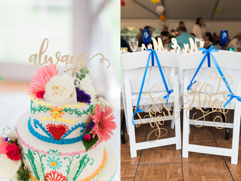 Mackinac Island Wedding, Traverse City wedding photographer Rockhill Studio, Inn at Stonecliffe, wedding cake and decor