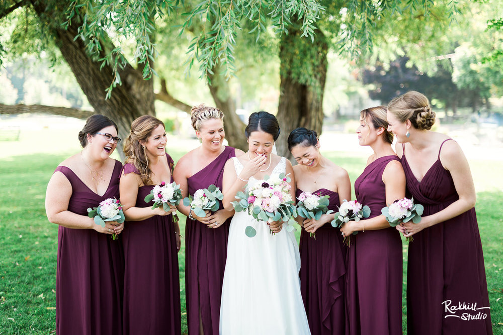 Northport michigan bridesmaids, traverse city wedding photographer rockhill studio