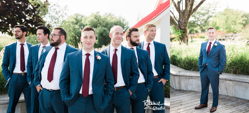 northport michigan groomsmen, traverse city wedding photography rockhill studio