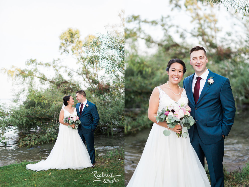 Northport wedding, bridal party, Traverse city wedding photographer Rockhill Studio