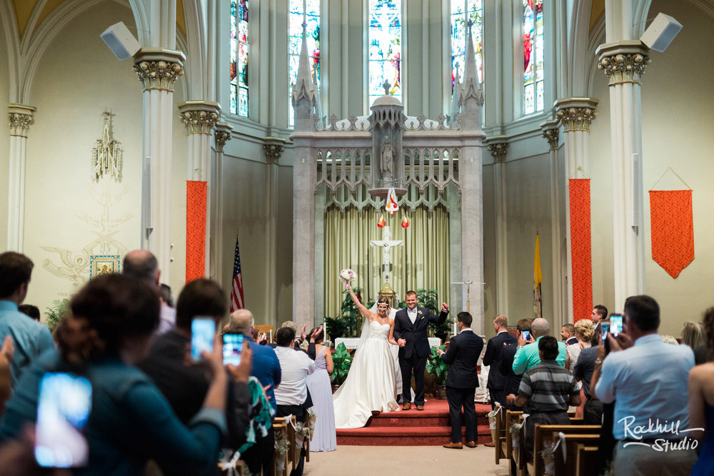 Grand rapids church wedding, traverse city wedding photographer Rockhill Studio