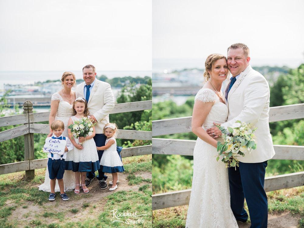 Mission Point Wedding, horse drawn carriage, Traverse City Wedding Photographer Rockhill Studio