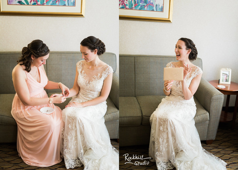 Getting ready details, Traverse City wedding photographer Rockhill Studio