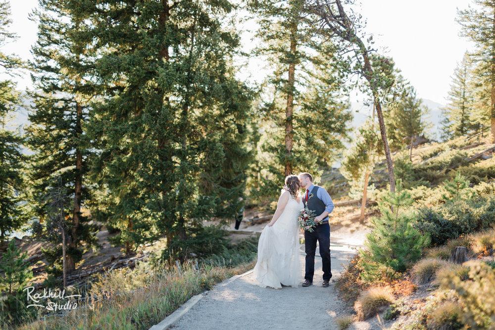 Destination wedding photographer Rockhill Studio, Sapphire Point, Traverse City to Breckenridge, Colorado