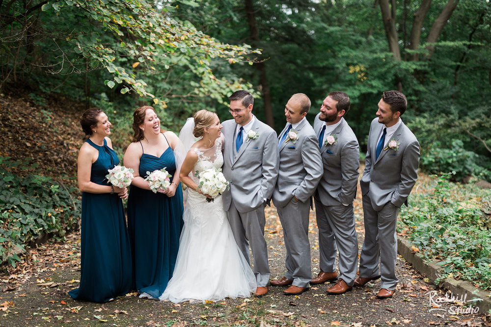 Traverse City Wedding Photographer, wedding party portraits, Rockhill Studio, destination wedding photography