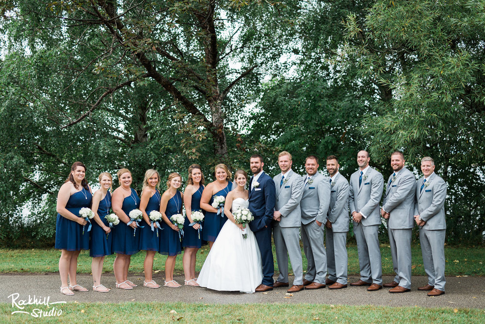 Traverse City Wedding Photography, wedding party, Rockhill Studio, Escanaba
