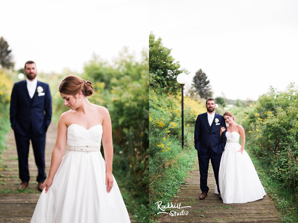 Traverse City Wedding Photography, bride and groom, Rockhill Studio, Escanaba