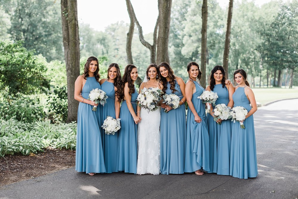 Bridesmaids, traverse city wedding photography Rockhill Studio, northern michigan,