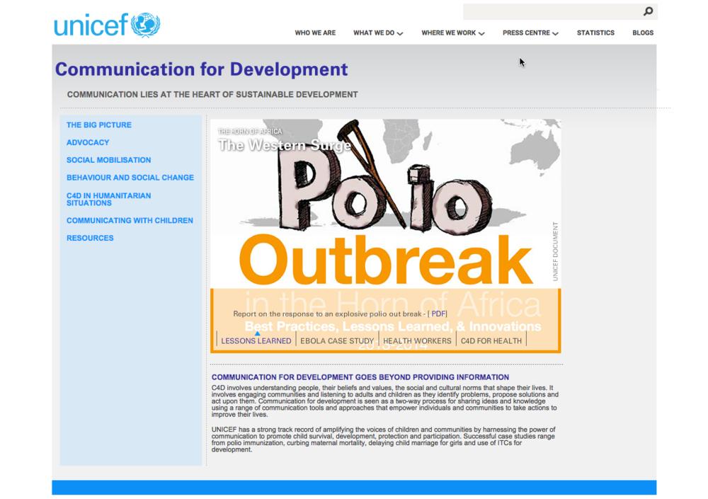 UNICEF's C4D Site