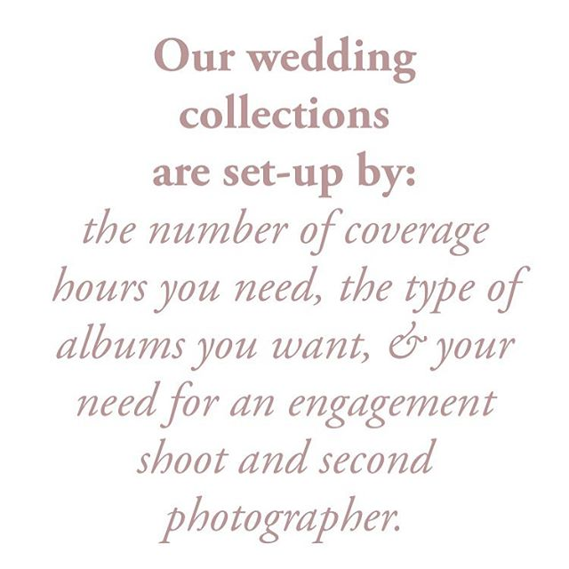 💋 Every couple deserves to have a choice in what they really need for their wedding day and beyond. Our collections focus on your needs and are can be customized! 👍  #louisvilleweddingphotographer #louisvillelove #louisvillewedding #louisvilleengagement #yeslouisville