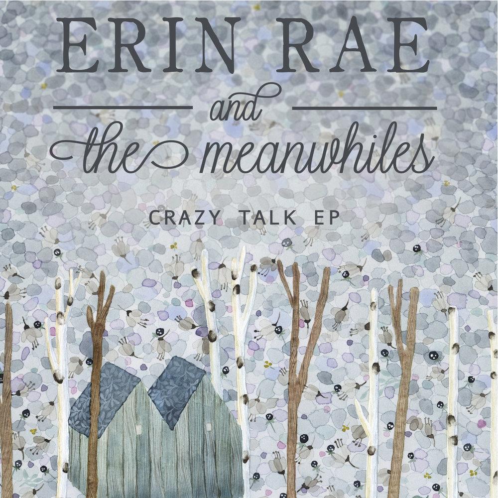 ERIN RAE AND THE MEANWHILES CRAZY TALK piano, organ, rhodes, mellotron, air organ, engineer
