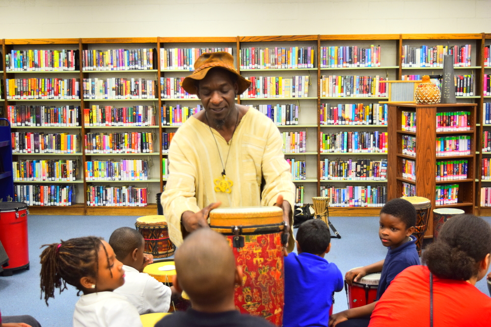 Marcus @ View Park library