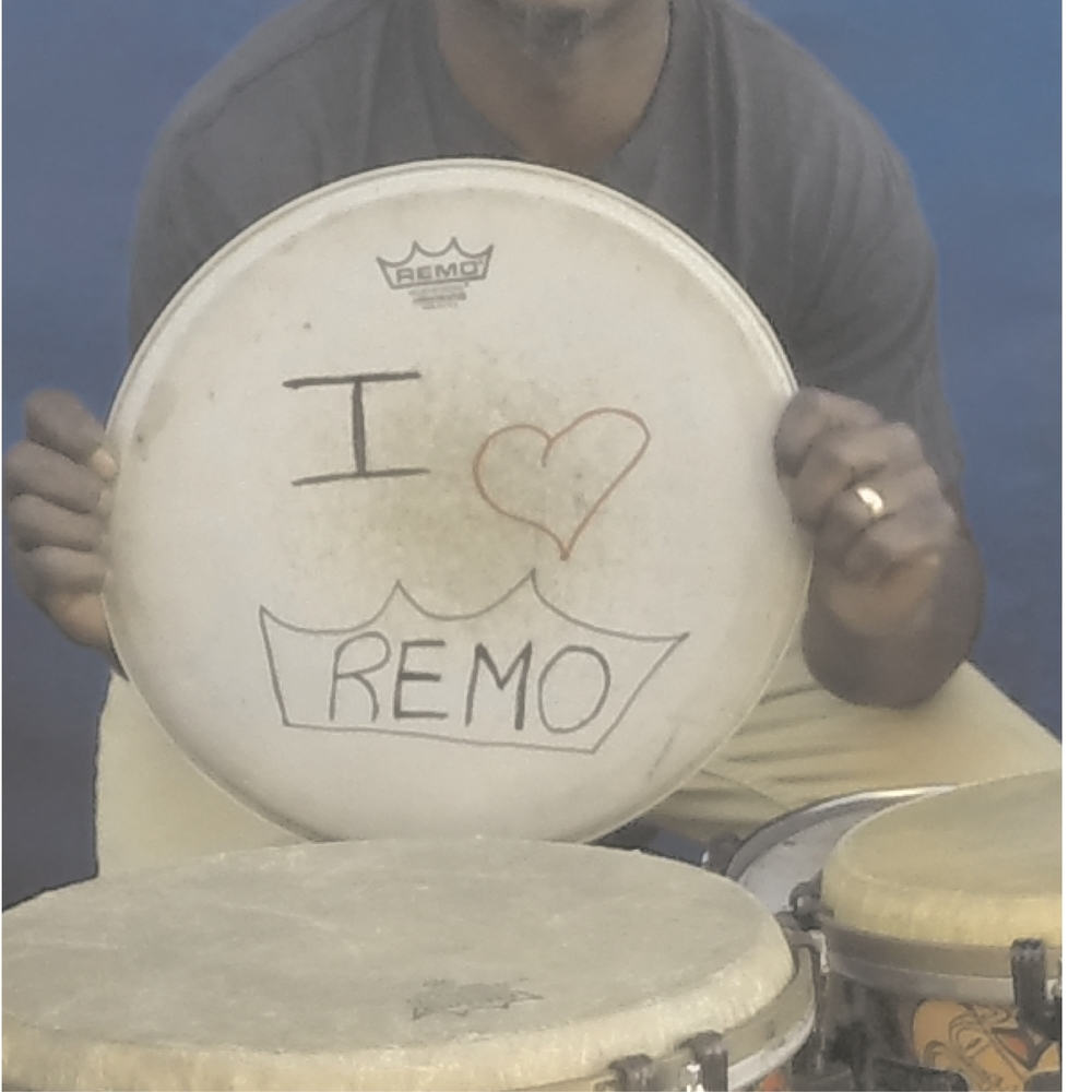 Marcus loves Remo drumheads!