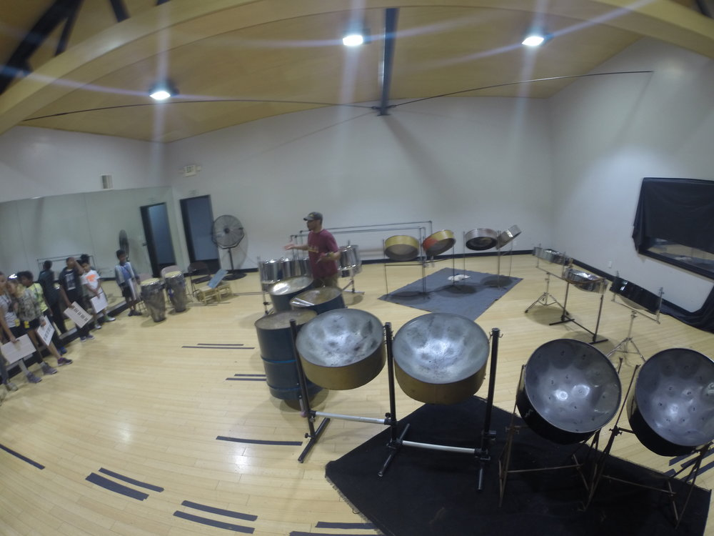 Day 2: Caribbean Percussion