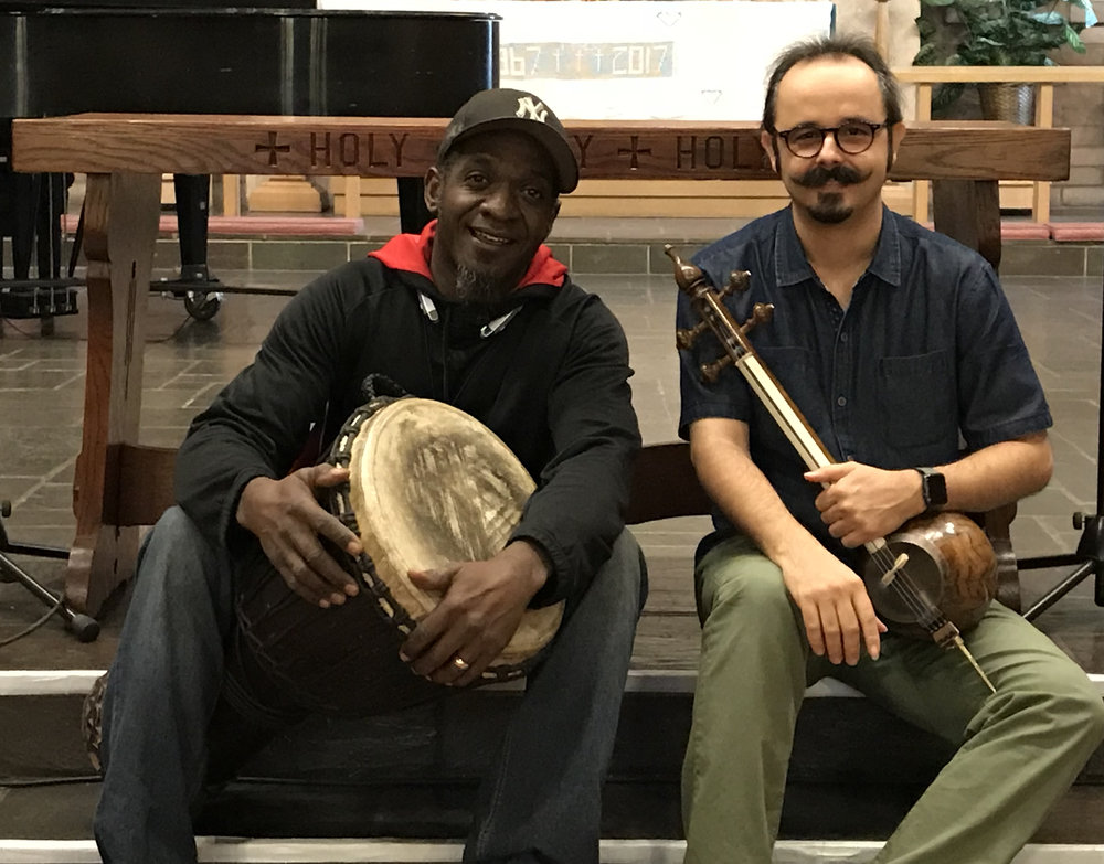 Marcus & Mehdi in San Bernardino