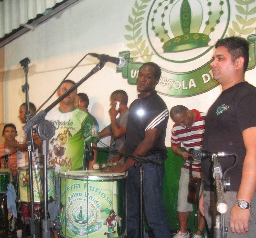 Samba party Manus, Brazil 2011