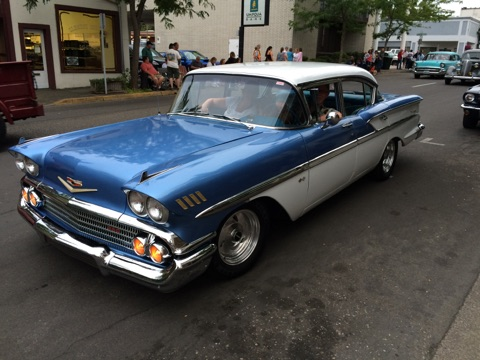 Betty Lou, the 1958 Chevy Bel Air that took me back in time