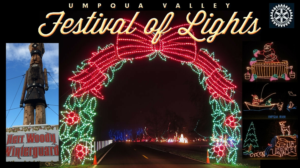 Umpqua Valley Festival of Lights
