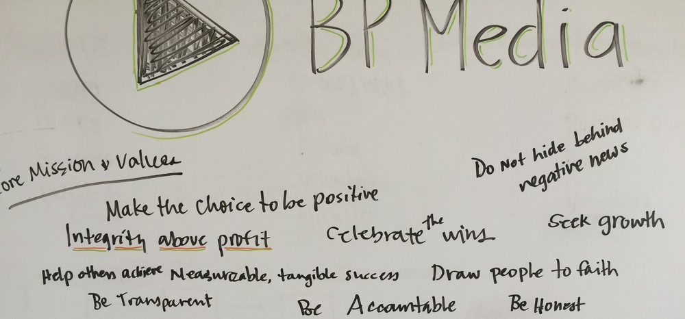 BP Media Core Mission and Values