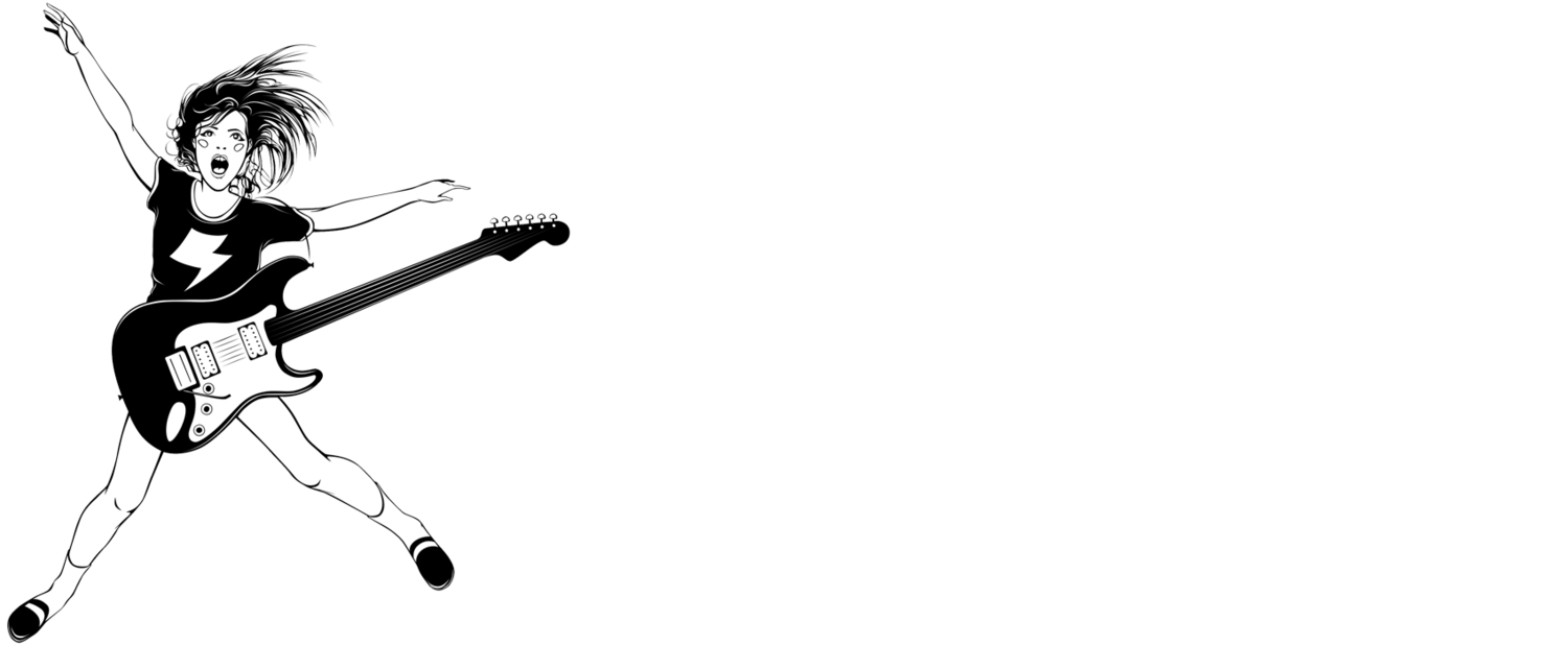rock camp girls Rock camp for girls+ is a weekend-long camp where girls, femmes, non-binary, two-spirit and gender non-conforming folk aged 13-18 learn an instrument, form a band and perform a song at a.