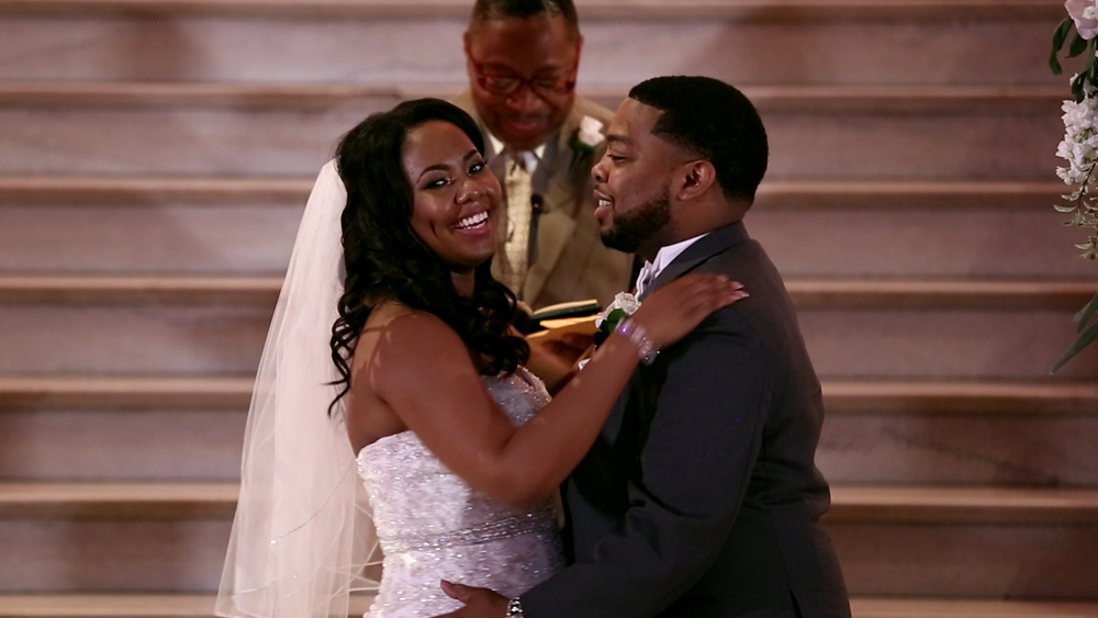 Mr. and Mrs. Scott!!!